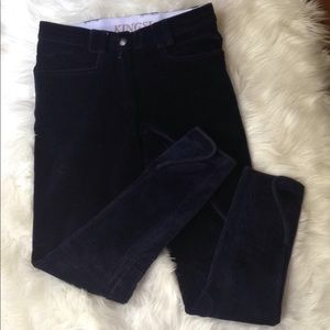 Pants - Kingsland Equestrian Riding Breeches Navy Size XXS